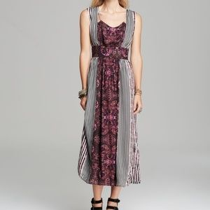 FREE PEOPLE MAYAN TEMPLE MIDNIGHT COMBO DRESS 4